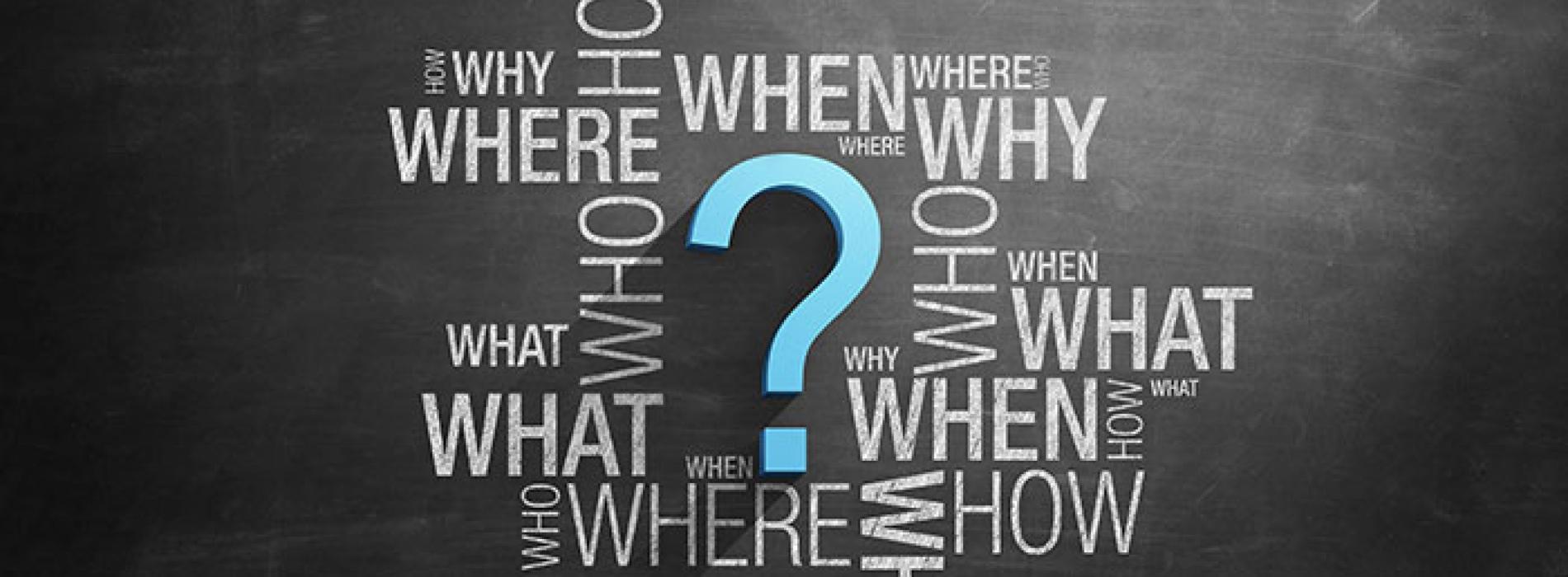 Az előre gyártott kérdéseink elhagyása