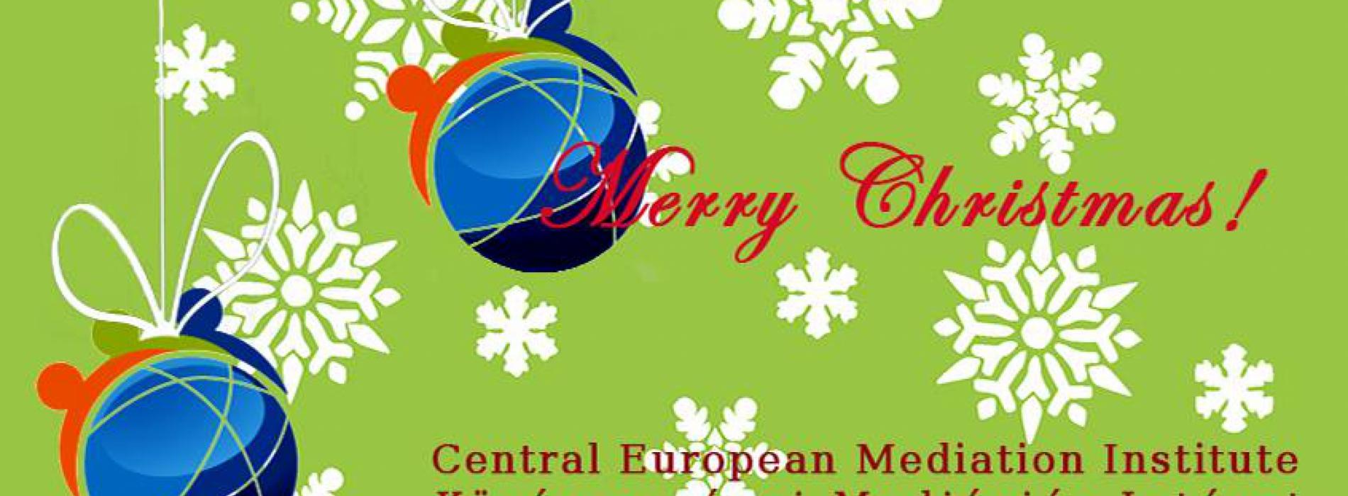 Boldog karácsonyt és Mediációban Gazdag Boldog Új évet kíván a Közép Európai Mediációs Intézet!