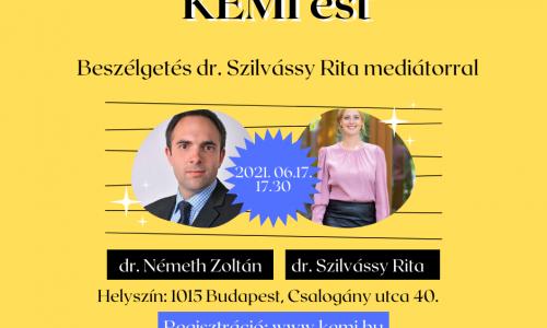 KEMI est dr. Szilvássy Rita mediátorral