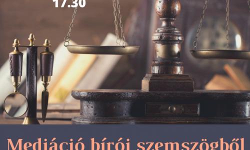 KEMI est: Mediáció bírói szemszögből