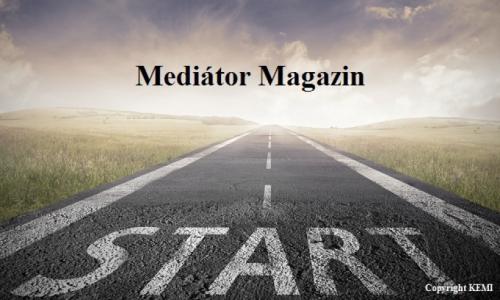 Publikáció a Mediátor Magazinban