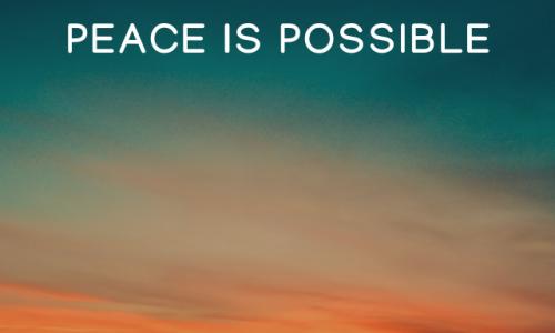Peace is possible - Dan Dana Üzenete