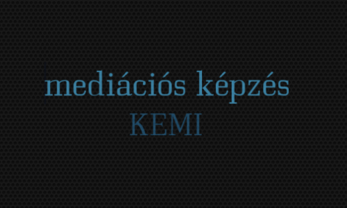 KEMI mediációs képzés